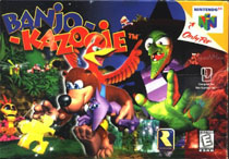 Photo de la boite de Banjo-Kazooie