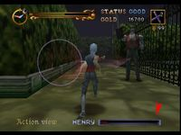 une photo d'�cran de Castlevania - Legacy of Darkness sur Nintendo 64