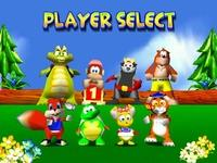 Diddy Kong Racing, capture d'écran