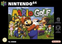 Photo de la boite de Mario Golf 64