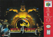 Photo de la boite de Mortal Kombat 4