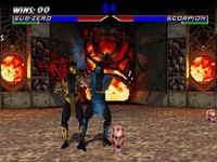 Mortal Kombat 4, capture d'écran