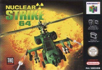 Photo de la boite de Nuclear Strike 64
