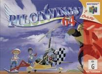 Photo de la boite de PilotWings 64