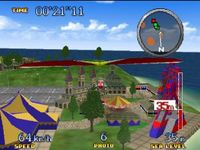PilotWings 64, capture d'écran