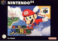 Photo de la boite de Super Mario 64