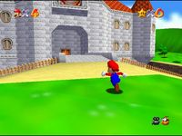 Super Mario 64, capture décran