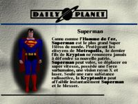 Superman, capture décran