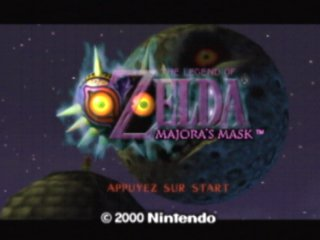 une photo d'écran de The Legend of Zelda - Majora s Mask sur Nintendo 64