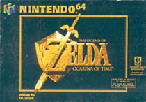 Photo de la boite de The Legend of Zelda - Ocarina of Time