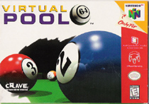 Photo de la boite de Virtual Pool 64