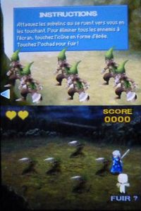 Final Fantasy 4 DS sur Nintendo DS