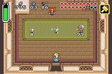 une photo d'écran de The Legend of Zelda - A Link to the Past sur Nintendo Game Boy Advance
