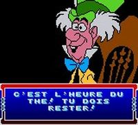 une photo d'écran de Alice in Wonderland sur Nintendo Game Boy Color
