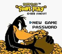 Daffy Duck - Un Tresor de Canard sur Nintendo Game Boy Color