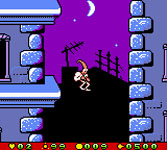 Earthworm Jim - Menace 2 the Galaxy sur Nintendo Game Boy Color