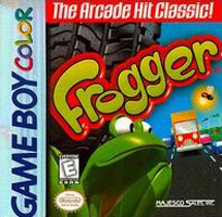 Photo de la boite de Frogger