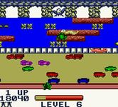 Frogger sur Nintendo Game Boy Color