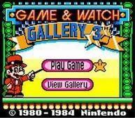 une photo d'écran de Game and Watch Gallery 3 sur Nintendo Game Boy Color