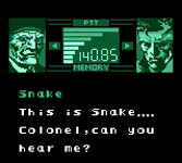 une photo d'écran de Metal Gear Solid gb sur Nintendo Game Boy Color