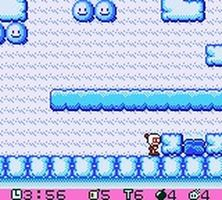 Pocket Bomberman, capture décran