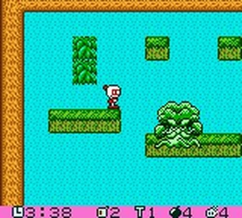 une photo d'écran de Pocket Bomberman sur Nintendo Game Boy Color