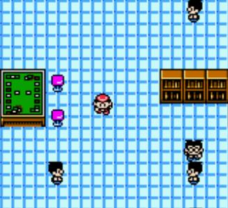 une photo d'écran de Pokemon Trading Card Game sur Nintendo Game Boy Color