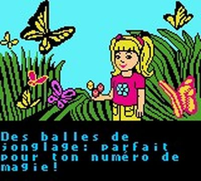 une photo d'écran de Shelly Club sur Nintendo Game Boy Color