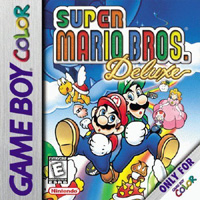 Photo de la boite de Super Mario Bros Deluxe
