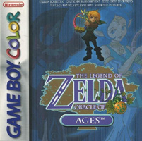 Photo de la boite de The Legend of Zelda - Oracle of Ages