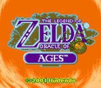 The Legend of Zelda - Oracle of Ages, capture décran