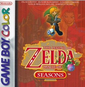 Photo de la boite de The Legend of Zelda - Oracle of Seasons