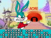 Tiny Toon Adventures - Buster Saves the Day, capture d'écran