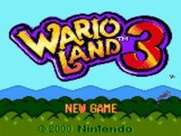 Wario Land 3, capture d'écran