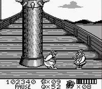 Asterix et Obelix (Game Boy), capture décran