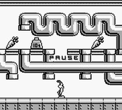une photo d'écran de Bugs Bunny Crazy Castle sur Nintendo Game Boy
