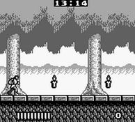 Castlevania - The Adventure, capture décran