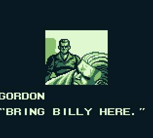 une photo d'écran de Double Dragon 2 sur Nintendo Game Boy