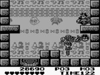 une photo d'écran de Felix the Cat sur Nintendo Game Boy