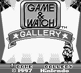 une photo d'écran de Game and Watch Gallery sur Nintendo Game Boy