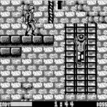 une photo d'écran de Indiana Jones and the Last Crusade sur Nintendo Game Boy