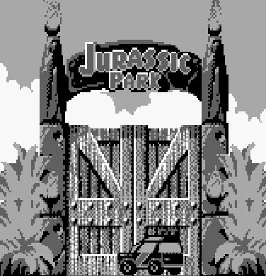 une photo d'écran de Jurassic Park Part 2 - The Chaos Continues sur Nintendo Game Boy