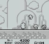 Kirby s Dream Land, capture décran