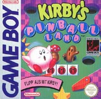 Photo de la boite de Kirby s Pinball Land