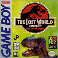 Photo de la boite de Le Monde Perdu - Jurassic Park (Game Boy)