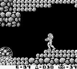 Metroid II - Return of Samus sur Nintendo Game Boy