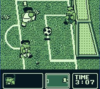 une photo d'écran de Nintendo World Cup sur Nintendo Game Boy