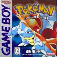 Photo de la boite de Pokemon Rouge Bleu