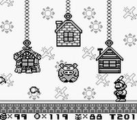 une photo d'écran de Super Mario Land 2 sur Nintendo Game Boy