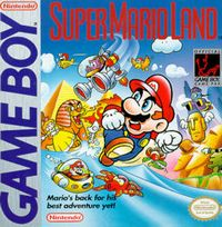 Photo de la boite de Super Mario Land